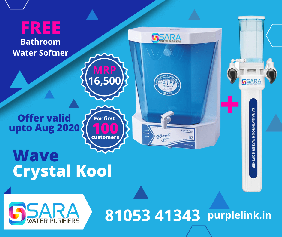 FREE WATER SOFTENER WITH KRYSTAL KOOL